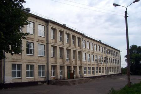 Школа Глазуновки. Фото