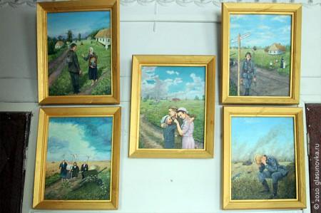 Выставка картин Анатолия Михайловича Коршунова в Глазуновской школе искусств