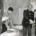 Вручение паспортов в Глазуновской школе.