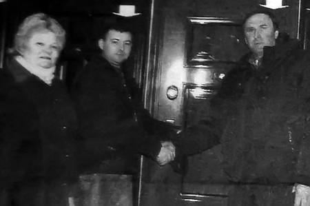 Новые двери для Новополевского ДК.