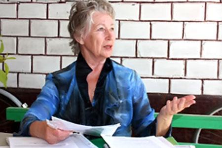 Ирина Кривошейкина.