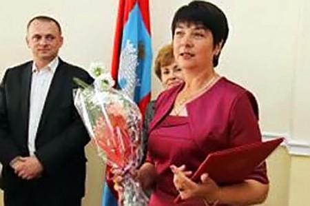 Победитель конкурса «Женщина — директор года».