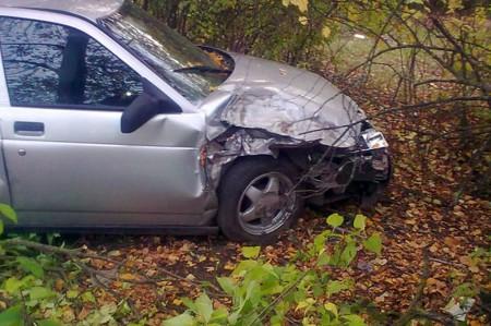 Автомобиль после ДТП.
