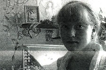Ученица Тагинской средней школы Кристина Гришина.