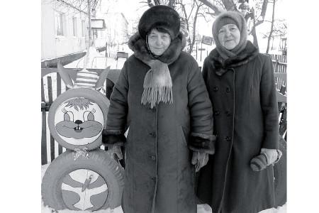 Зоя Ивановна Курочкина и Татьяна Егоровна Богдашкина.