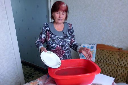 Вода в Глазуновке.