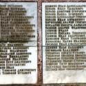 Фамилии земляков-односельчан, погибших в боях за Родину в 1941-1945 г.г.