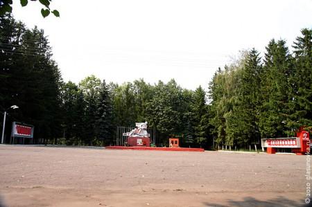 Пгт. Глазуновка Орловской области. Площадь Славы.