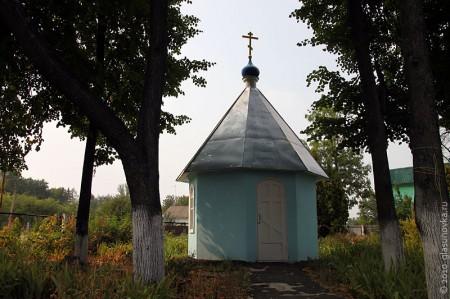 Часовня на территории церкви