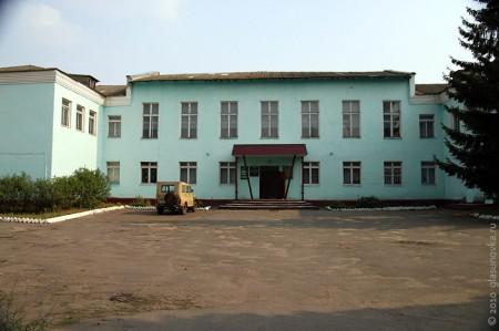 Здание, в котором находится Глазуновский историко-краеведческий музей