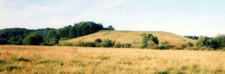 Курган — место стоянки первобытного человека.