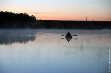 Рыбалка. Утро.