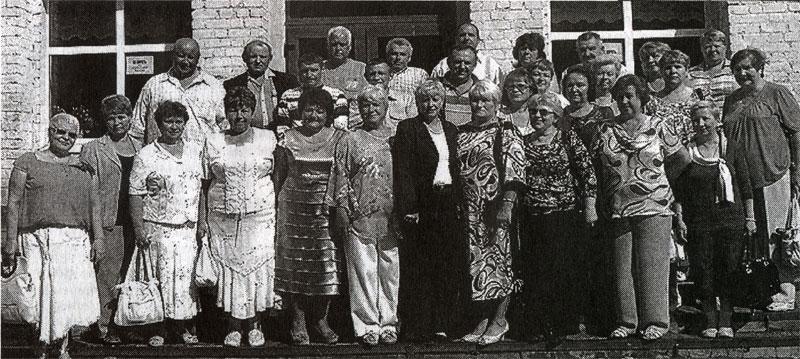 На встрече выпускников 1973 года выпуска в 2011 году.