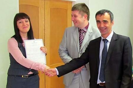 Молодые семьи получили сертификаты по подпрограмме «Обеспечение жильем молодых семей».
