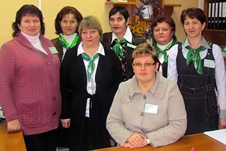 Работники Глазуновского допофиса Сбербанка.