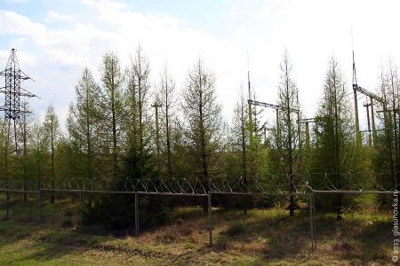 Глазуновская электрическая подстанция.