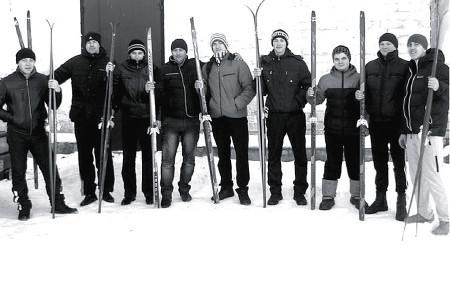 Олимпийская неделя в деревне Новополево.