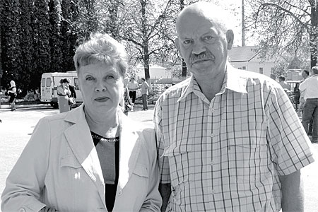 Александр Владимирович и Наталья Евгеньевна Мазины большую часть жизни прожили в Глазуновке.