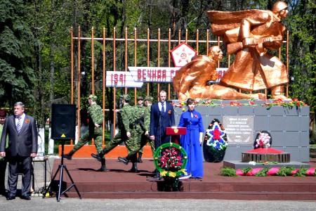 День Победы — 2015 в Глазуновке.