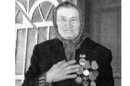 Анна Ивановна Лощилова.