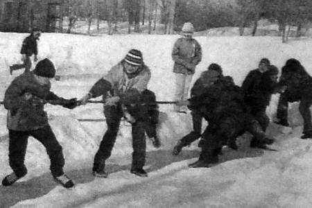 Праздник спорта «Богатырские потехи» в деревне Новополево (Глазуновский район).